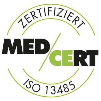 zertifikat medcert Farbe